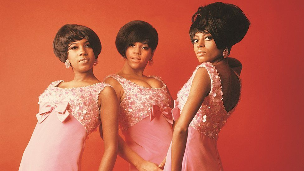 The Supremes left to right: Mary Wilson, Florence Ballard, Diana Ross
