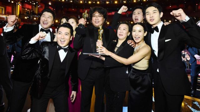 Image result for parasite oscars