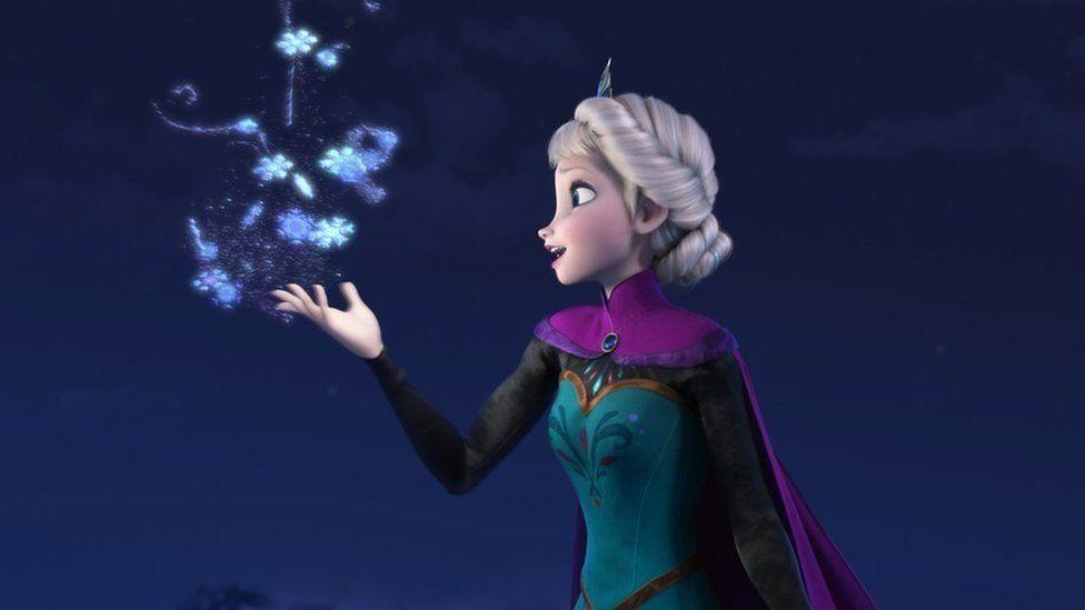 elsa from frozen was