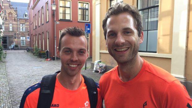 Tim & Sjors visiting Deventer