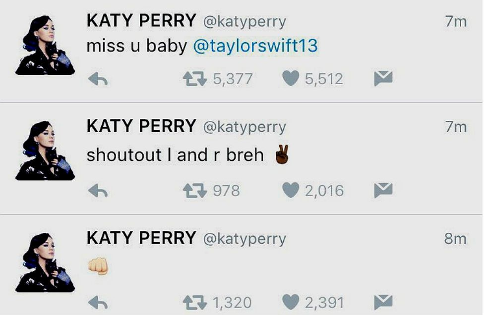 Katy Perry / Twitter
