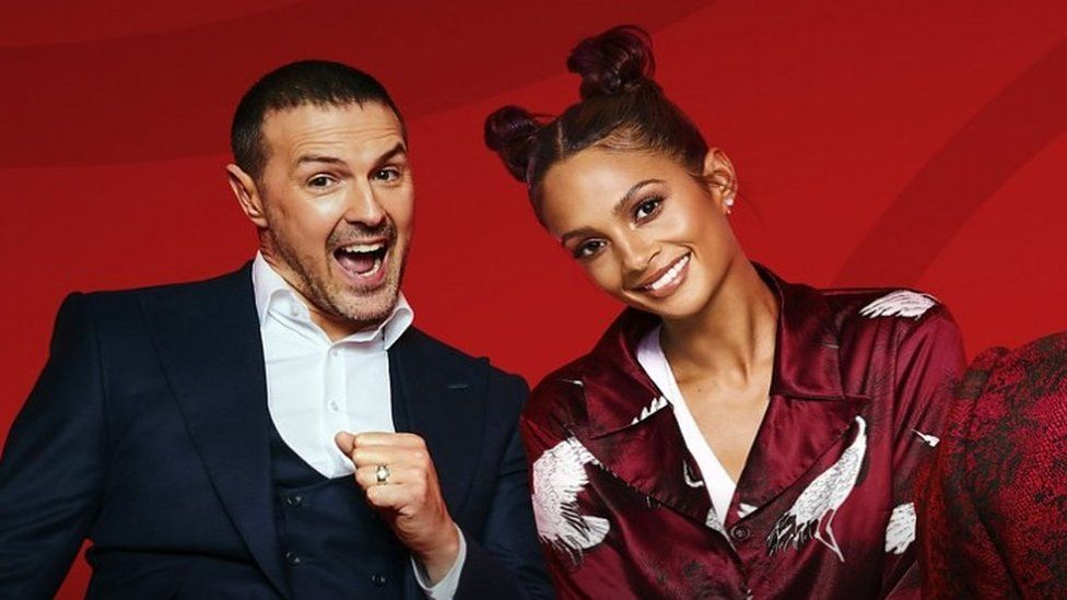 Paddy McGuinness and Alesha Dixon