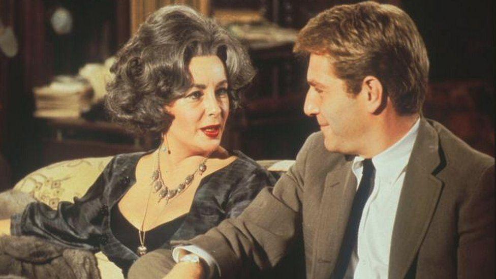 Elizabeth Taylor and George Segal in Who's Afraid of Virginia Woolf?