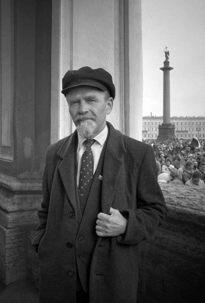 Lenin look-alike