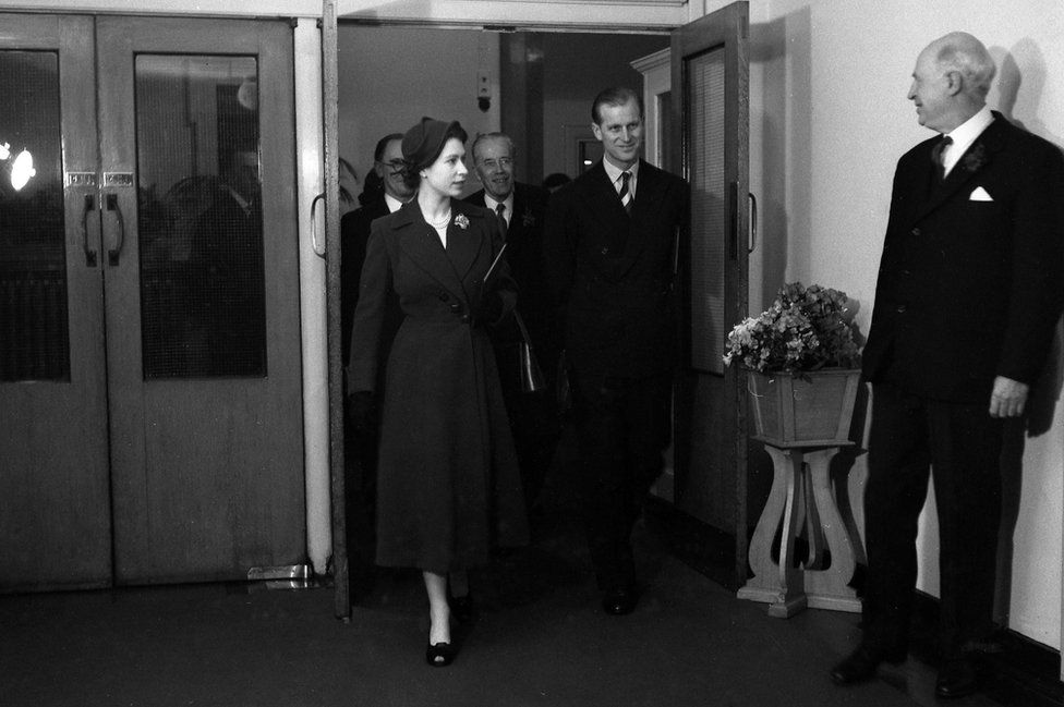 The Queen & Prince Philip in 1953 at Maida Vale