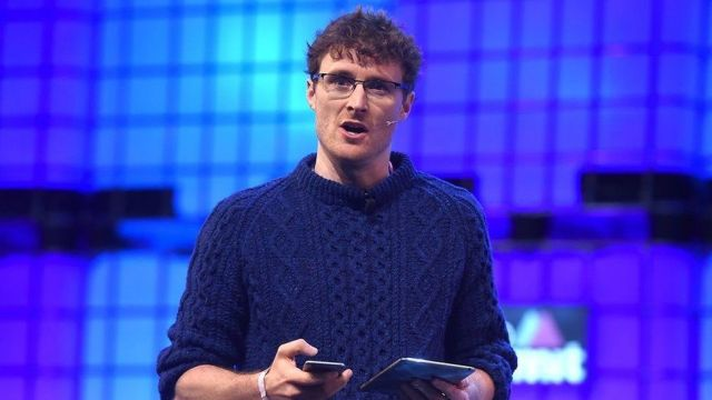 Paddy Cosgrave speaking