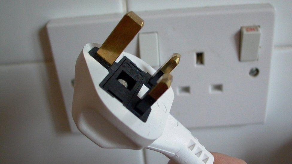 Electric plug, UK