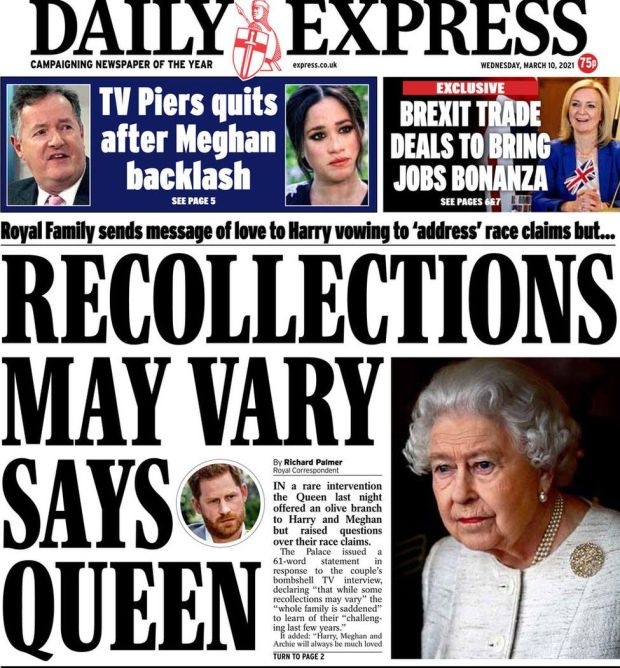 The Daily Express 10 March