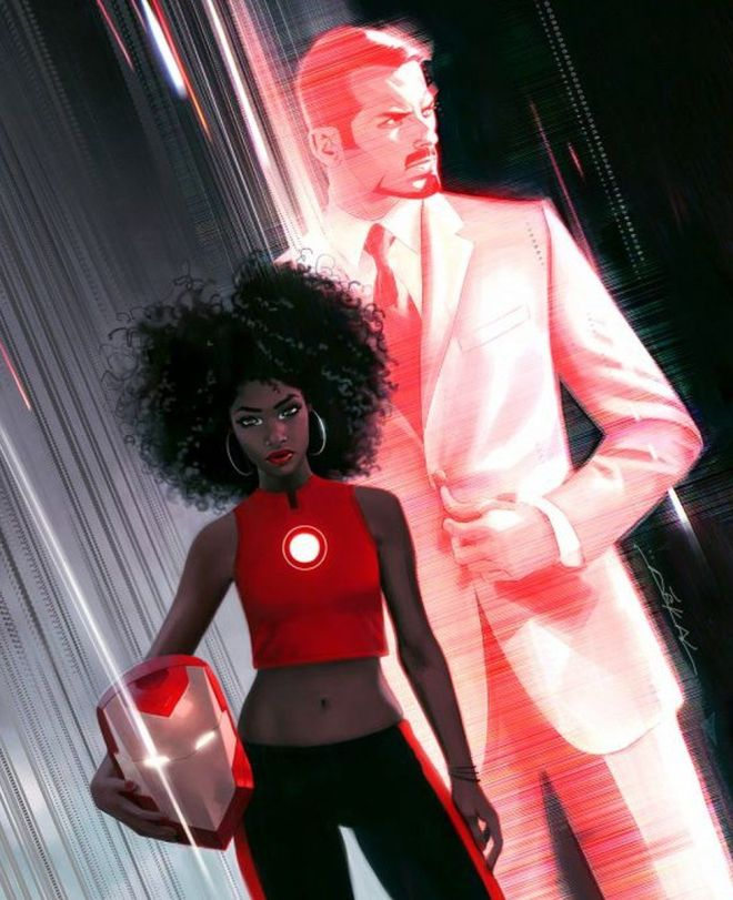 Marvel's new Iron Man is 15-year-old black girl - BBC News