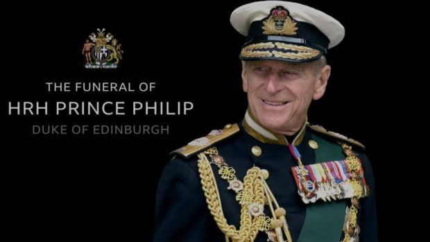 The funeral of HRH Prince Philip