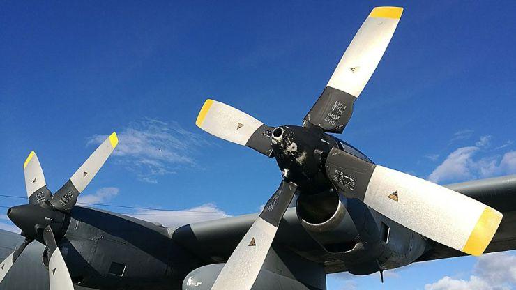 Hélices del C-130