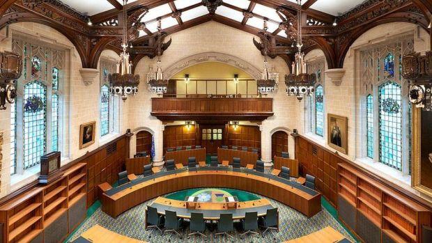 Supreme court interior