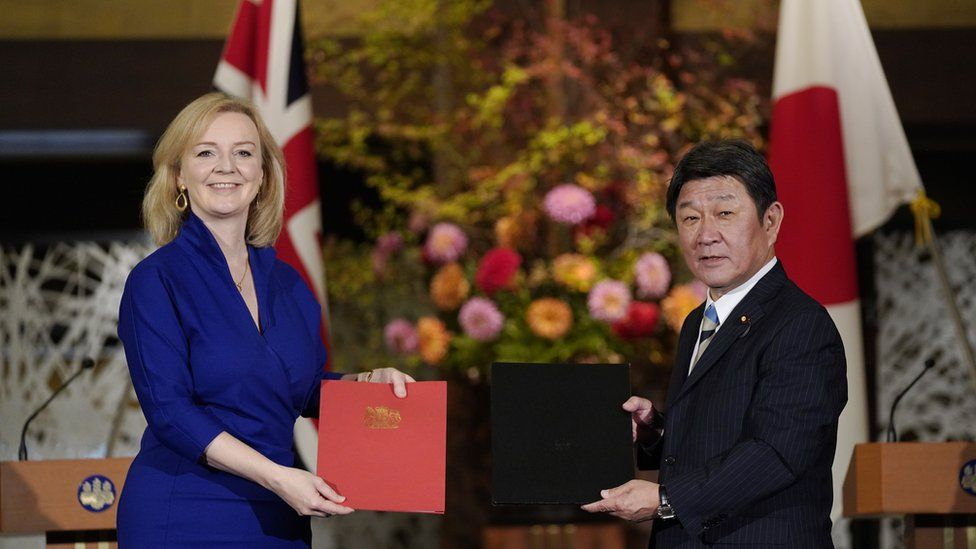 , Brexit: What trade deals has the UK done so far?, The Evepost BBC News
