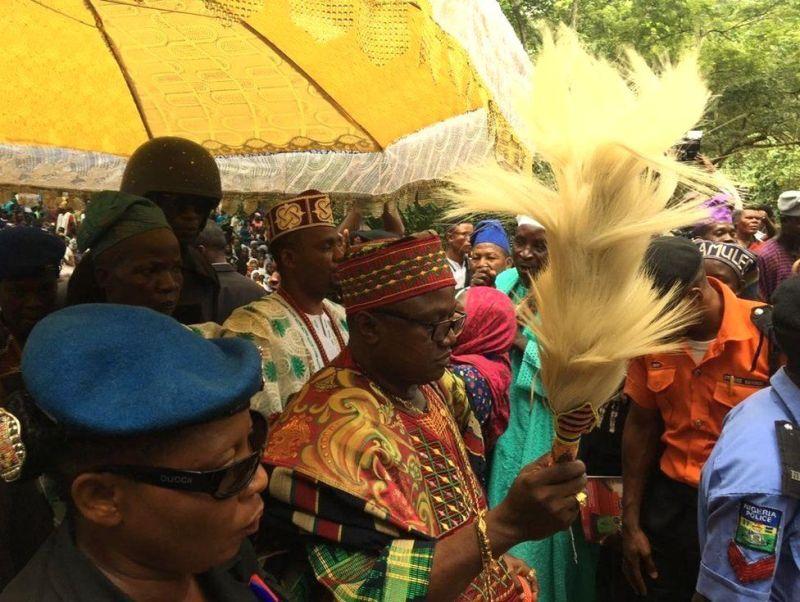 The King of Ashogbo