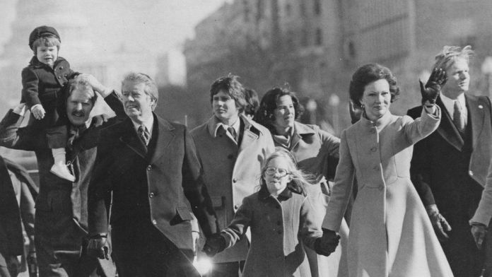 Inaugural parade 1977
