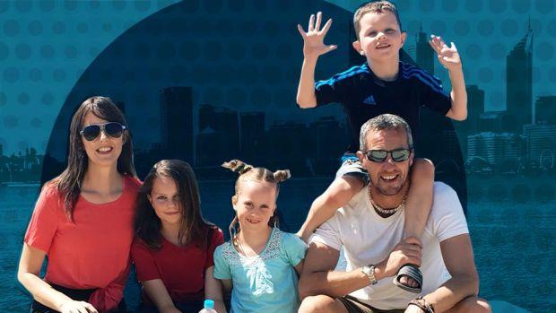 The Beattie family in Perth