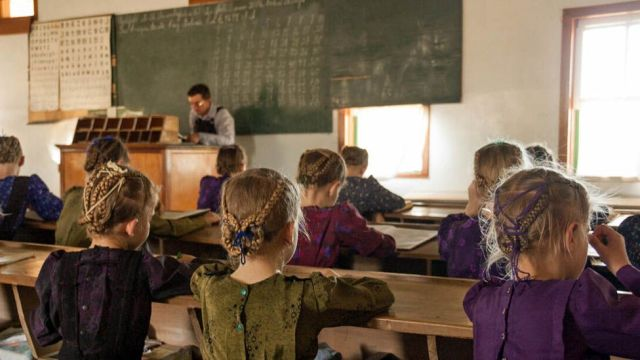 Escola Menonita em Colonia Belize, Bolívia