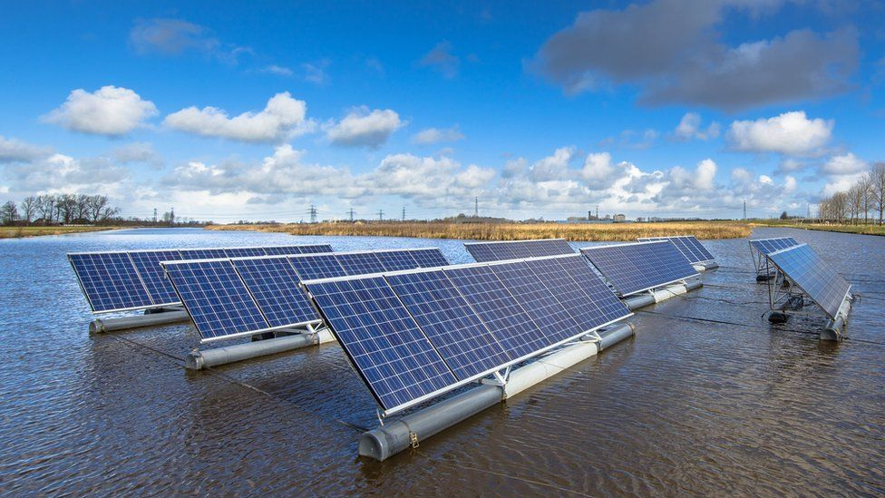 Climate Change Water And Green Energy Produced By A Single Device Bbc News