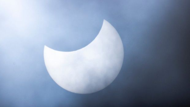 Eclipse from Roslin