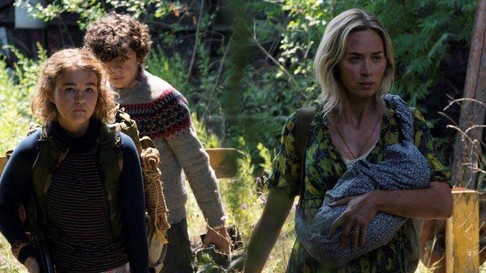 A Quiet Place Part II: Critics praise delayed sequel to 2018 horror hit - BBC News