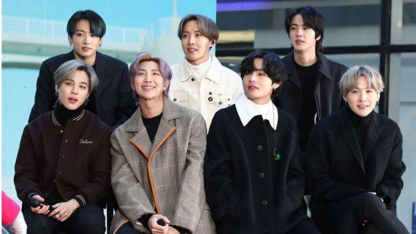 K-pop super group BTS
