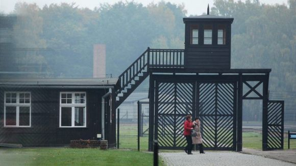 Stutthof - preserved structures at former Nazi death camp, 2015