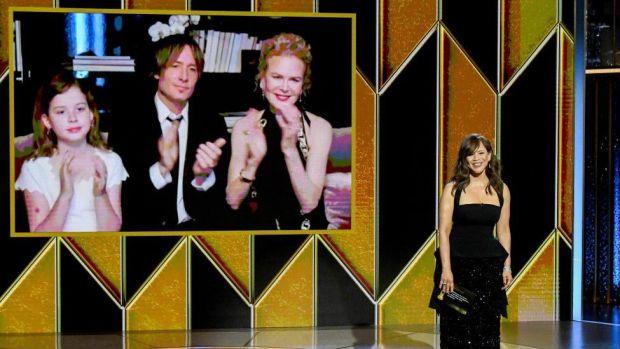 Last week's Golden Globe ceremony
