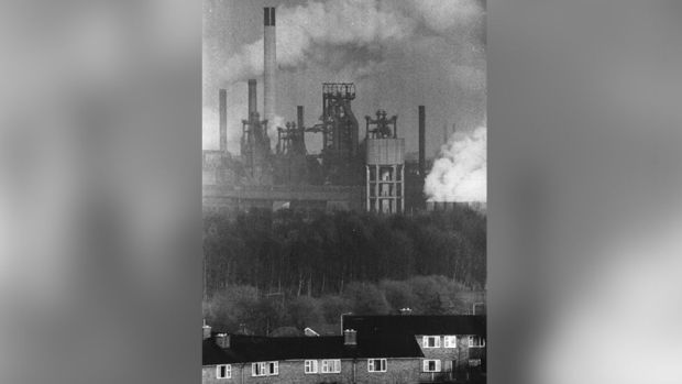 Corby steelworks 1978