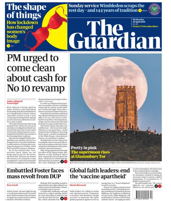 The Guardian 28 April 2021