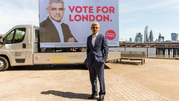 Labour candidate for the London mayoral election Sadiq Khan