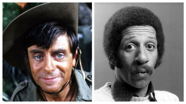 Melvyn Hayes and Derek Griffiths