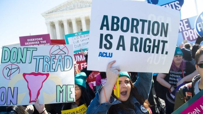 The looming battle over abortion in the US - BBC News