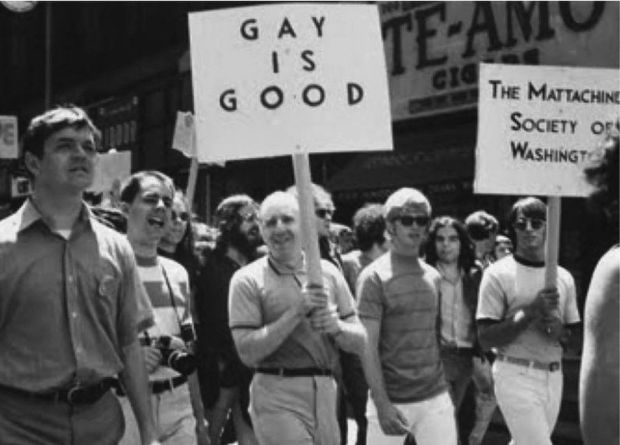 Gay rights rally