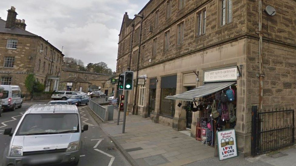 Shaun Curtis's shop in Bakewell