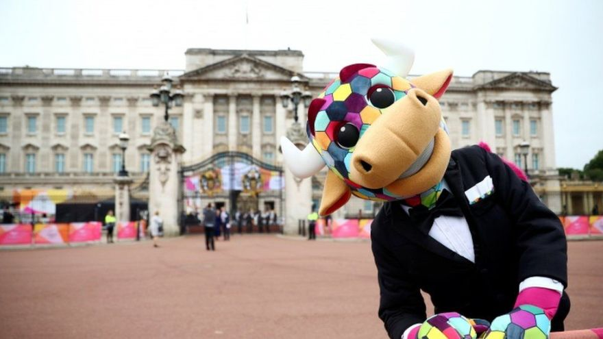 The mascot of the Games