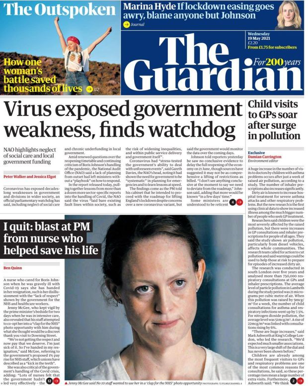 The Guardian 19 May