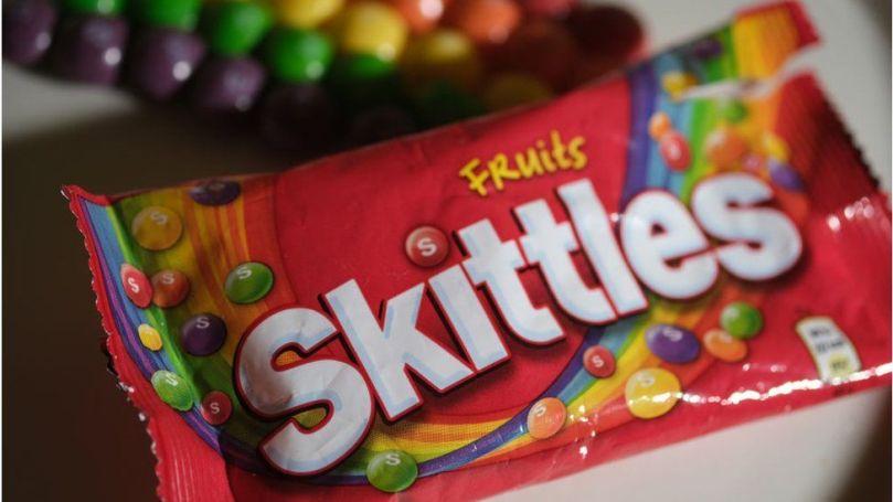 Skittles wrapper