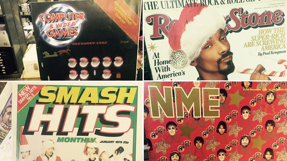 Christmas covers dug out of James Hyman's archive