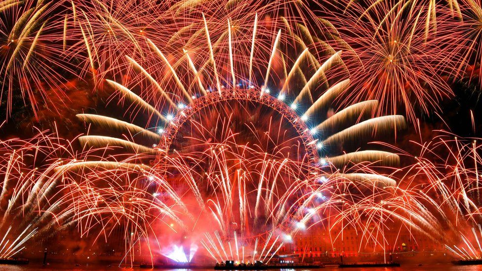 in pictures new year