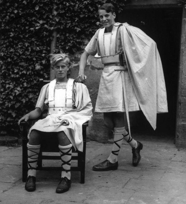 Philip in costume as Macbeth