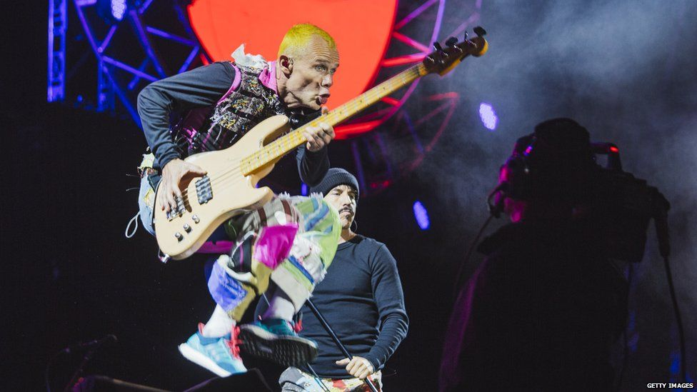 Image result for red hot chili peppers leeds 2016