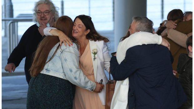 Families celebrating