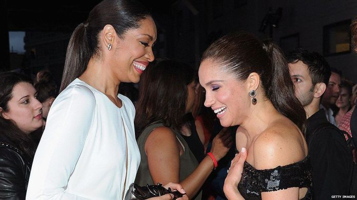 Meghan Markle and Gina Torres