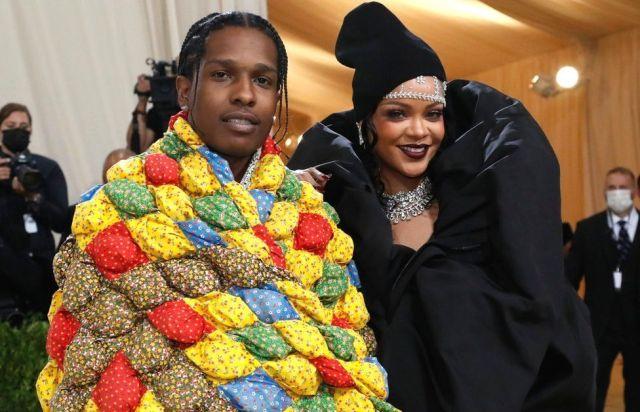 A$SAP Rocky and Rihanna