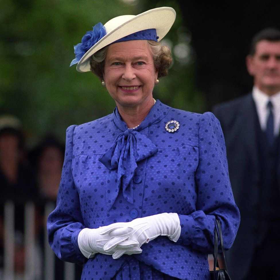 Queen Elizabeth II at Ascot for the King George VI and Queen Elizabeth Diamond Stakes