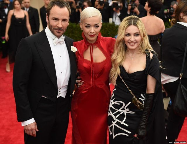 Tom Ford, Rita Ora and Madonna
