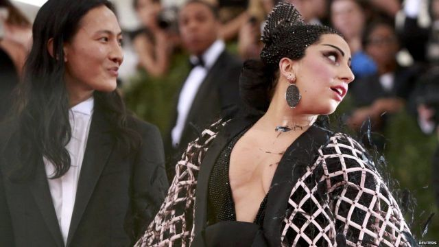 Alexander Wang and Lady Gaga