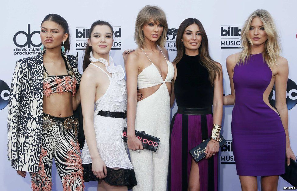 Zendaya, Hailee Steinfeld, Taylor Swift, Lily Aldridge and Martha Hunt