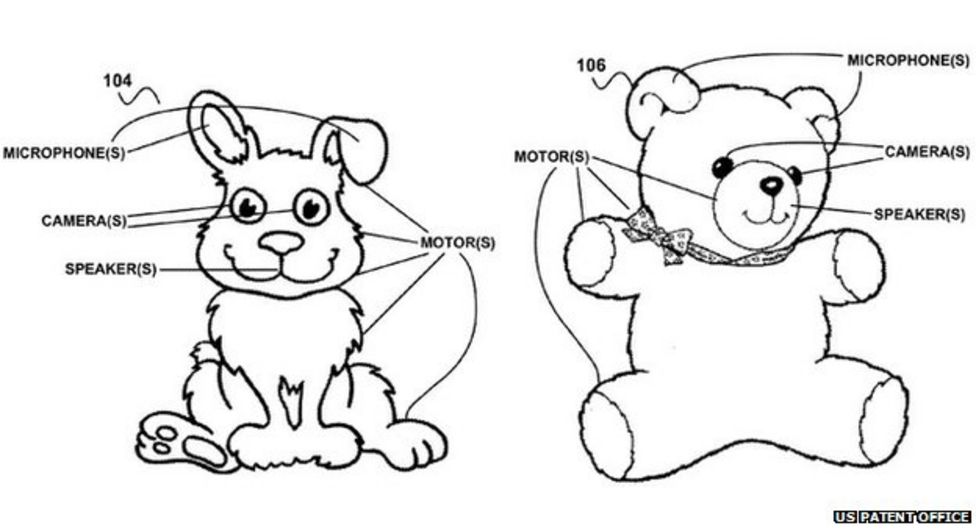 Google patents 'creepy' internet toys to run the home