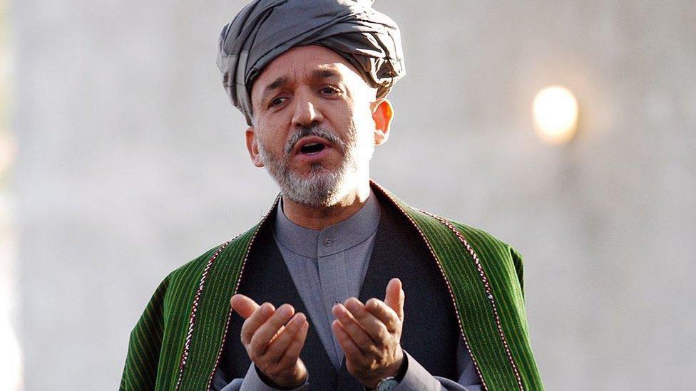 Hamid Karzai lideró grupos anti-talibanes alrededor de Kandahar antes de convertirse en presidente.